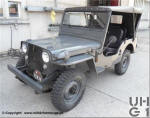 Willys Overland Jeep CJ Personentransporter